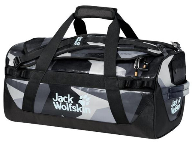 Jack Wolfskin Expedition Trunk 30 Duffle Bag grey geo block